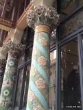 more beautiful tiled pillars