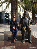 with Hans Christian Andersen who loved Málaga