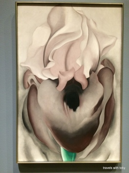 Georgia O'Keeffe from MIA exhibit