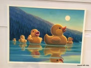 Bruce Nygren, hubby's favorite artist in the fine arts building
