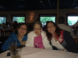 celebrating Mom's 93rd birthday