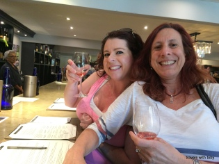 wine tasting at Benziger winery. so fun!!!