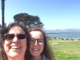 attempting a selfie with Golden Gate