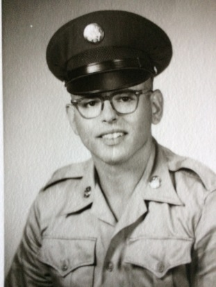 Army photo, he served 1966-69