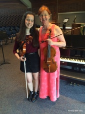 first viola recital