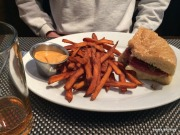 The Muffuletta and sweet potato fries