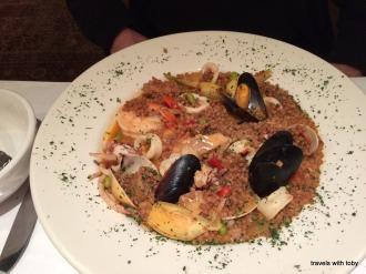 Sardinian paella, Biaggio, St. Paul