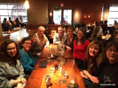 cousins and extended family lunch, at Hub51(Chicago), fun!!