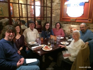 Lou Malnati's(Chicago) with family