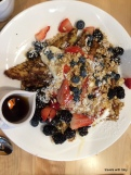 Yolk: berry French toast