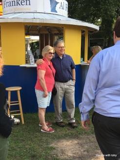 Al Franken and a constituent