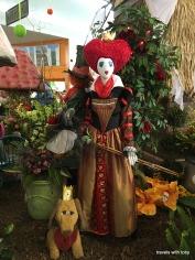 part of Alice in Wonderland display
