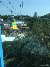 from the sky ride