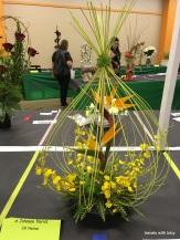 random flower display, 2nd visit