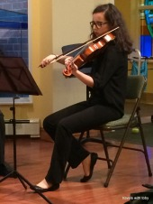 my gal, the violist