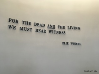 we must bear witness-Holocaust Memorial Museum, D.C.