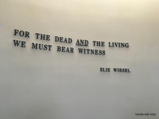 we must bear witness-Holocaust Memorial Museum, D.C.