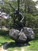 Thinker on a Rock-National Sculpture Garden