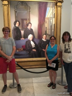 Four female justices-National Portrait Gallery