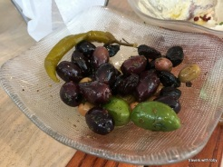you have to get olives-Zaytinya