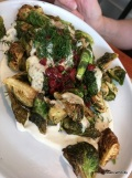 Crispy Brussels Afelia, also quite yummy-Zaytinya