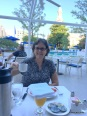 breakfast outdoors near the pool