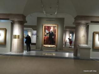 Presidential portraits galleries