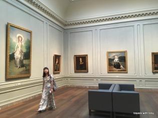 The Goya room