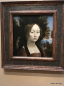 "Da Vinci ""Ginevra de' Benci""-National Gallery of Art"
