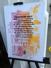 free first amendment posters