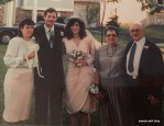 Paul and Nina wedding 1990