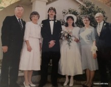 John and Toby wedding 1991