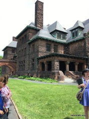 James J. Hill house - where the Summit Avenue walking tour begins