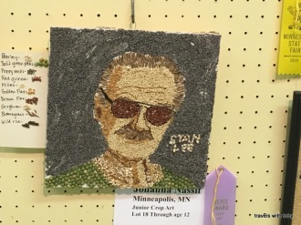 Stan Lee, crop art