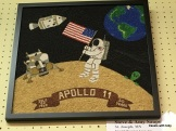 Apollo 11 50th anniversary, crop art-MN state fair