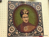 Frida Kahlo, crop art