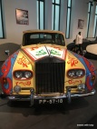 Hippie car designed by John Lennon - automobile museum, Málaga