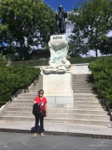 Me and Goya - Prado Madrid