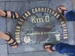 Kilometro zero, Madrid