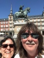 Plaza Mayor selfie, Madrid