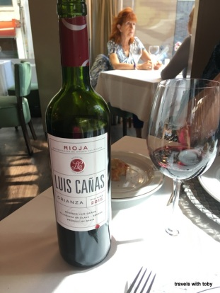 Rioja at Café Varela, Madrid