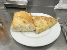 The best tortilla española - El Brillante, Madrid