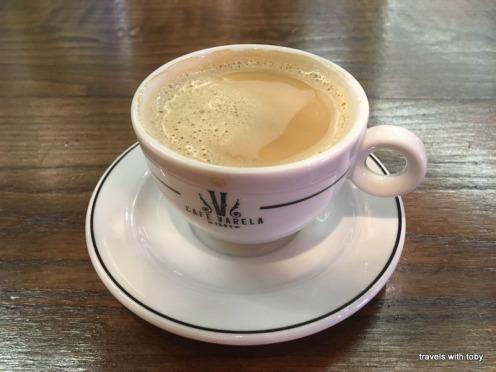 My last good café con leche - Café Varela, Madrid