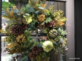lovely autumn wreath