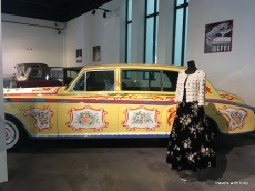 Hippie car designed by John Lennon