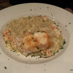Lobster risotto with langostino