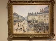 Place du Théâtre Français, Paris: Rain, 1898 - Pisarro