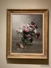Vase of Roses - Eva Gonzalez