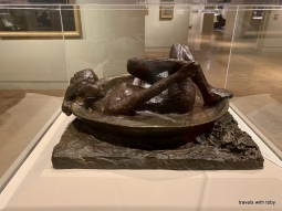 Woman in a bathtub - Degas